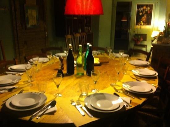 Le Bindi : IL tavolo