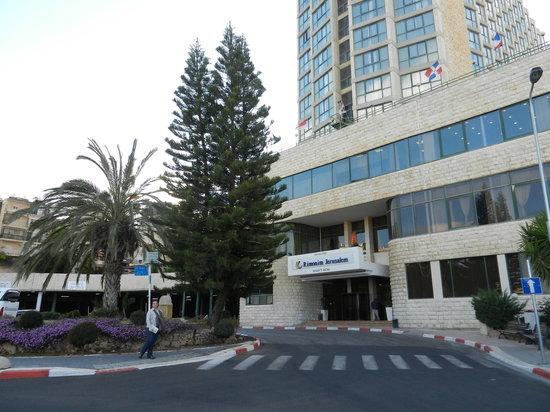 Rimonim Shalom Hotel Jerusalem: Fachada