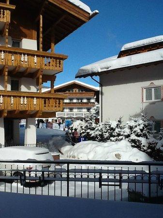 Hotel Genziana: Panorama dal salotto