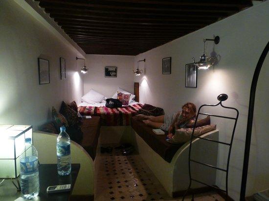 Riad Laaroussa: The brown suite