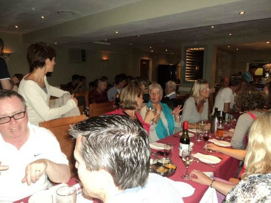 Bilas Tandoori: Annual cricket club dinner. We can cater for all types of events and parties.