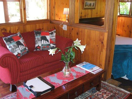 Knysna Tonquani Lodge & Spa: Lounge Chalet 4