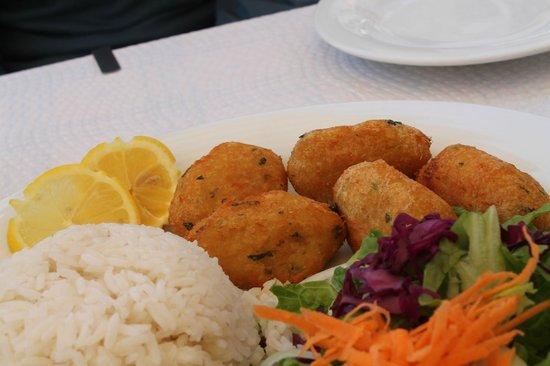 Palm Tree Pub Restaurante: polpette di baccalà