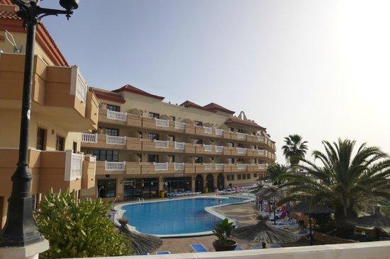 "Elba Castillo San Jorge & Antigua Suite Hotel: View of the ""Antigua"" part of the complex"