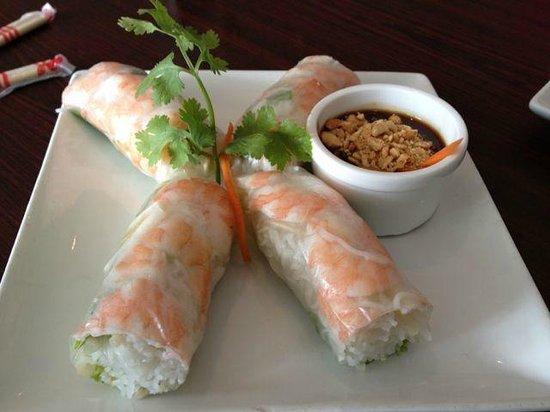 Saigon Spring Vietnamese Restaurant: Summer Rolls