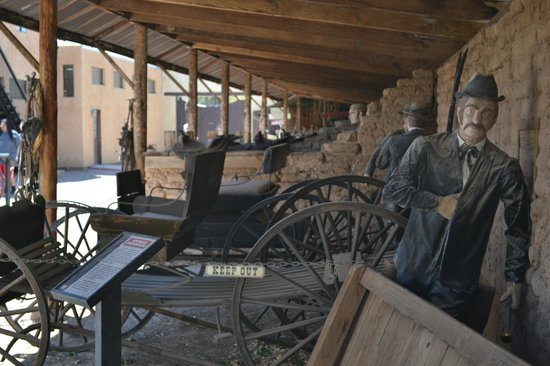 O.K. Corral: The stables in need of some TLC