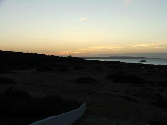 La Gaviota : visuale/tramonto dall'appartamento