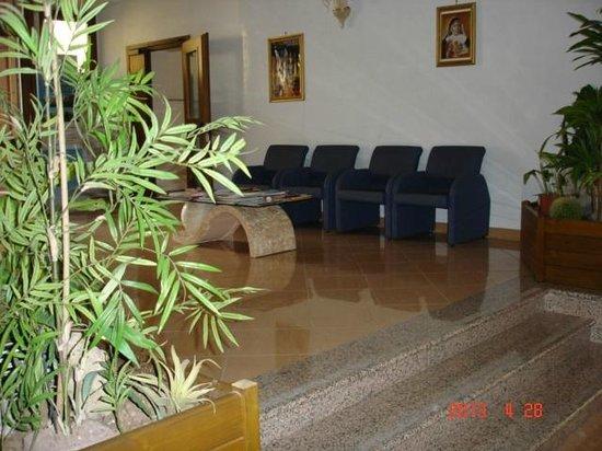 Residenza Nazareth: La sala conversazione