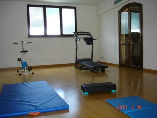 Residenza Nazareth: Un angolo della sala fitness