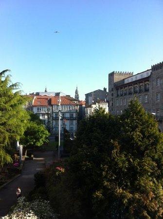 Hostal Mafer: Vistas desde la habitacion