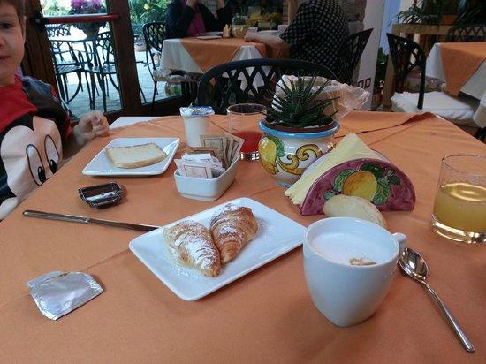 Relais Villa Angiolina: colazione
