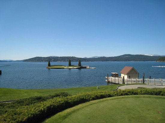Coeur d'Alene Resort Golf Course: The Famous Floating Green
