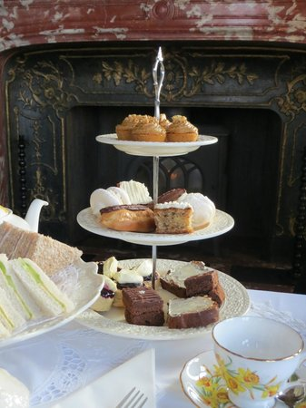 Glandyfi Castle: Afternoon tea