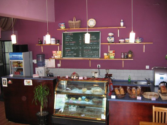Rendezvous Cafe: Cake and Service counter