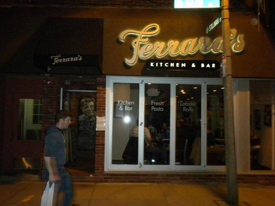 Ferrara 39 S Kitchen Bar Boston North End Restaurant Reviews Photos Tripadvisor