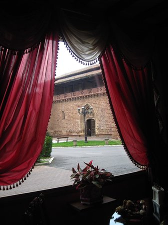 Palacio Azcarate: Vista desde la recepción