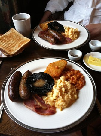 Pennyhill Park, an Exclusive Hotel & Spa: The amazing breakfast
