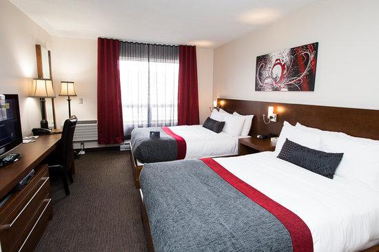 chambre classique 2 lits 2 photo de hotel v gatineau tripadvisor. Black Bedroom Furniture Sets. Home Design Ideas