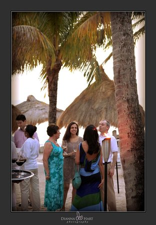 Sugar Beach, A Viceroy Resort: Rehearsal party on the beach