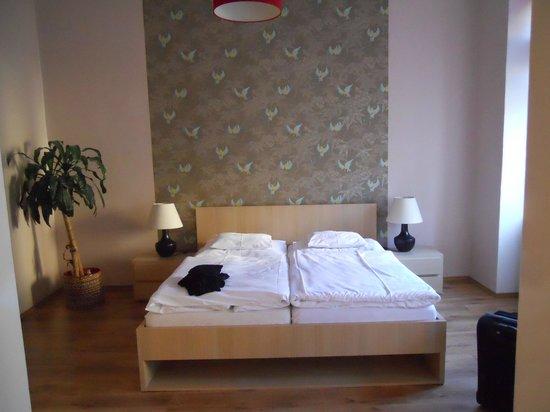 Bratislava Apartments: la camera da letto