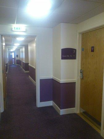 Premier Inn Sheffield City Centre (St Mary's Gate) Hotel: Room 707 entrance