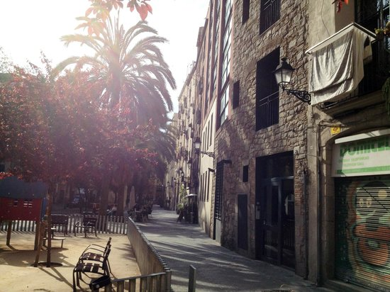 Allada Apartments: view from the street