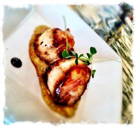 Parker House Inn and Restaurant: Scallop appetizer