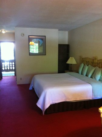 Helendorf River Inn and Conference Center: Big room, big bed