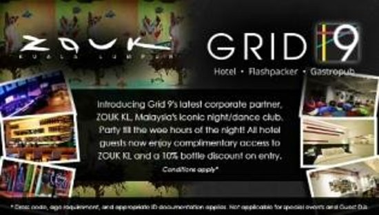 Grid 9 Hotel: If your'e looking for a fun night