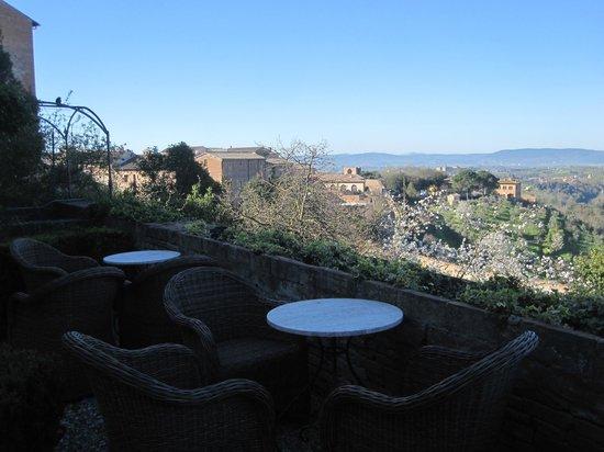 Palazzo Ravizza: panorama dalla terrazza