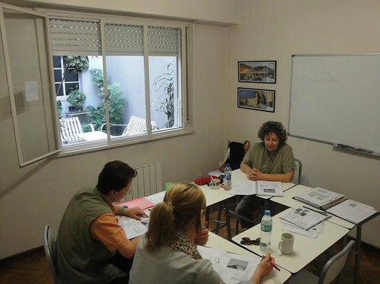 Verbum Spanish Courses in Buenos Aires Argentina: Class in session
