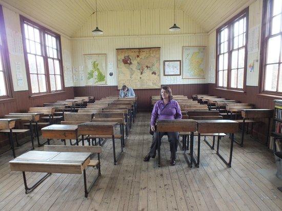 Highland Folk Museum: School House