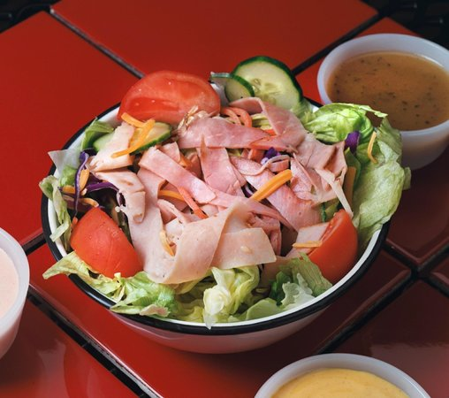 L.a. Subs: Chef Salad with unlimited possibilities!