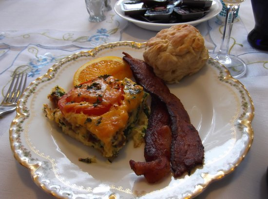 Lake Valley Legends Bed and Breakfast: Yummy Breakfast
