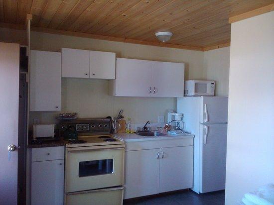 The Maples Waterfront Resort and Heritage B&B: Cabin 5 Kitchen