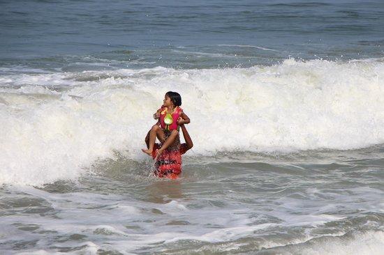 Sai Vishram Byndoor: Kids in the beach