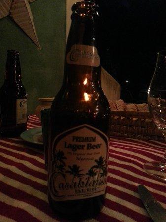 Fez Cafe at Le Jardin Des Biehn: finalmente una birra!