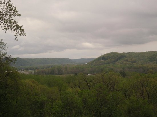 General Butler State Resort : View from the lodge