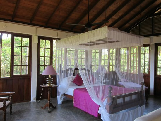 The Last House: Bedroom overlooking the road