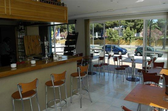 Playa de Valdelagrana: Cafetería