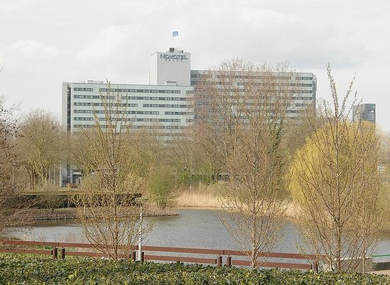 Novotel Amsterdam City: A view of the Novotel from Amsterdam Bos across the road