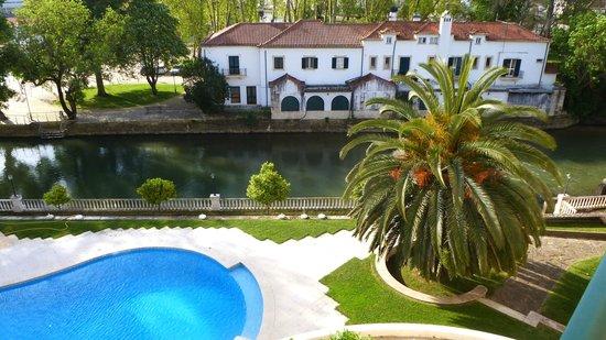 Hotel dos Templarios: vue de la chambre