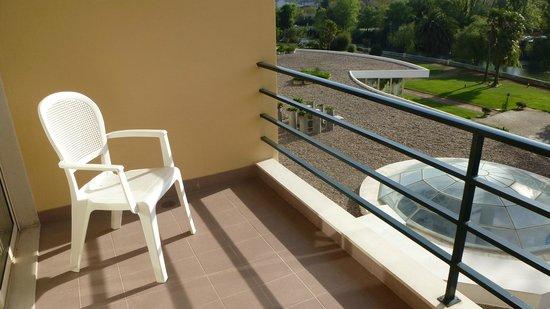 Hotel dos Templarios: balcon