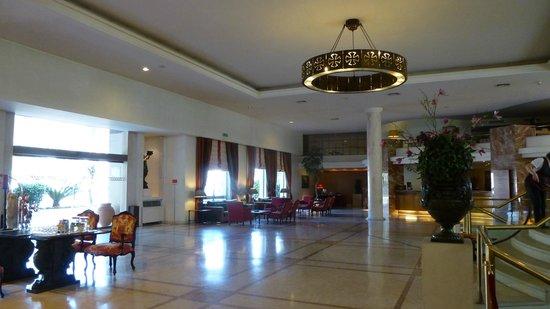 Hotel dos Templarios: réception