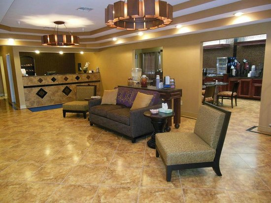 BEST WESTERN Manhattan Inn: Lobby