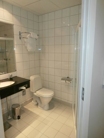 Scandic Holberg: Baño