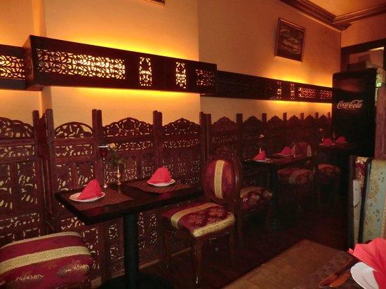 Zala Restaurant Rothenbaum: Wandbeleuchtung