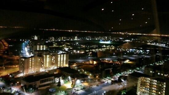 The Ritz Cape Town: Vistas desde el restaurante giratorio