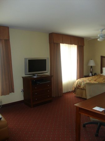 Homewood Suites by Hilton Champaign-Urbana: Television/Dresser