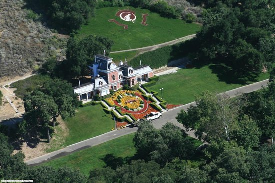 Santa Barbara Helicopter Tours: Michael Jackson Neverland Ranch home of the King of Pop